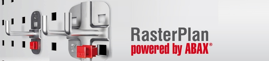 RasterPlan® Werkzeughalter Lochplatten ABAX®