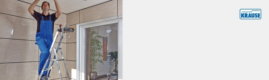 KRAUSE Stehleitern - Einseitig besteigbar