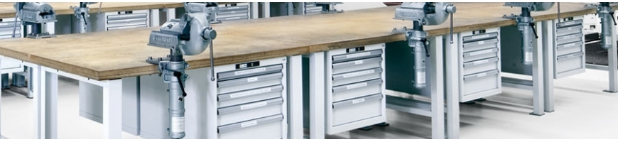 LISTA Werkbänke Multiplex- oder Buchenplatten