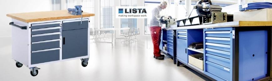 LISTA Systemwerkbänke