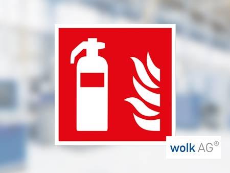 WOLK Brandschutzschilder