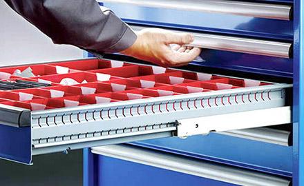 LISTA Schubladenschrank - Einzelschubladensperre
