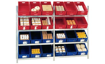 Euro-Behälter in 5 Standard-Farben auf Lager