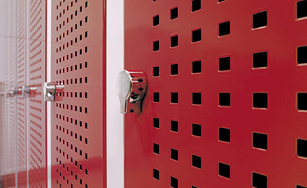 LISTA Garderobenschränke - Schließsysteme