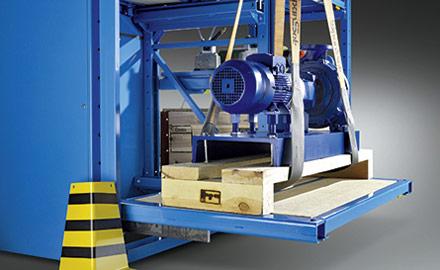 LISTA Schwerlastauszugregale - Schwerlast-Auszüge bis 1000 kg