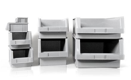 Sichtlagerkästen PLK in 8 Größen erhältlich