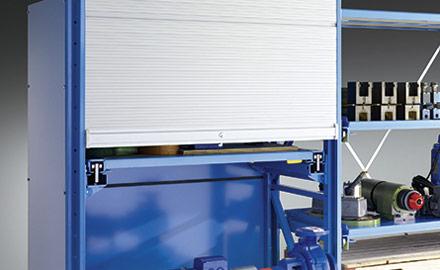 LISTA Schwerlastauszugregale - Schiebetür- oder Rolladenvorbau