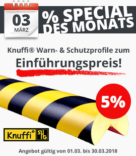 KNUFFI Warn- und Schutzprofile