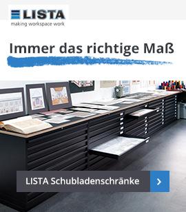 LISTA Schubladenschränke