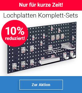 Lochplatten Komplett-Sets 10% reduziert