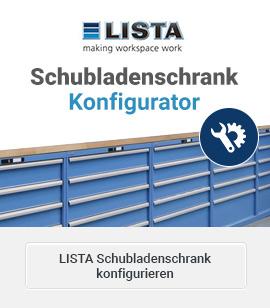 Schubladenschrank Konfigurator