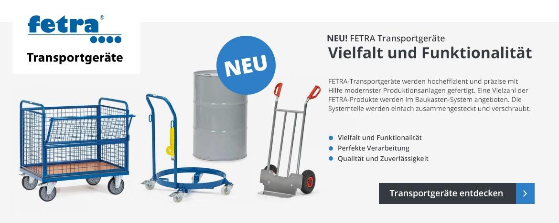 NEU: Transportgeräte von FETRA